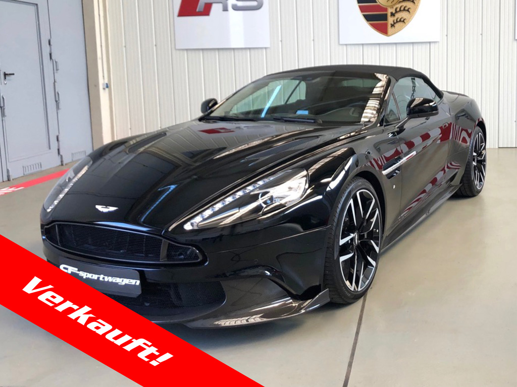 Aston Martin Vanquish S Volante Cf Sportwagen Handels Gmbh